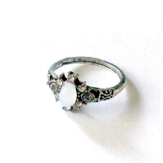 Boho Silver Ring / lente 2017 / bijoux / zilverkleurig / boho - bohemian / model14