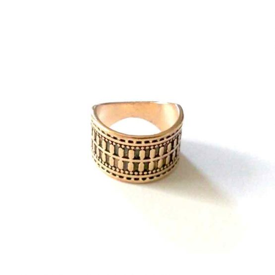 boho gold ring / bijoux / goudkleur - model3
