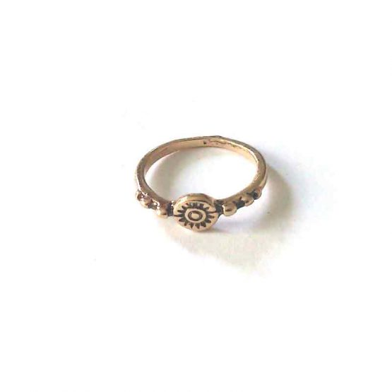 boho gold ring / bijoux / goudkleur - model8