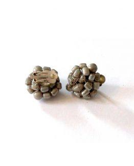 Manouk b073-4 Ivanka clip oorbellen / bijoux / grjis