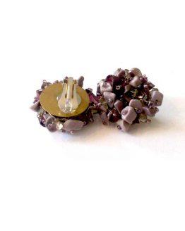 Manouk s077-4a Hester clip oorbellen / bijoux / meerkleurig