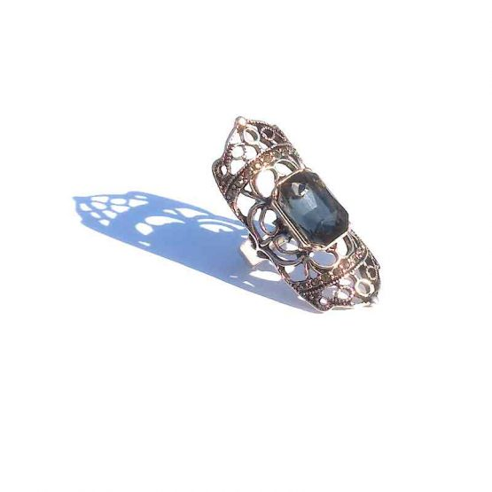 Big Boho Silver / model2 / bohemian bijoux / zilverkleurig - transparant