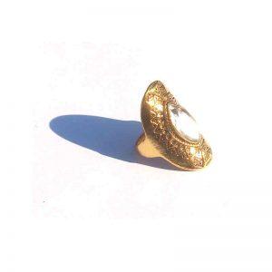 Big Boho Gold / model4 / bohemian / goudkleurig-wit