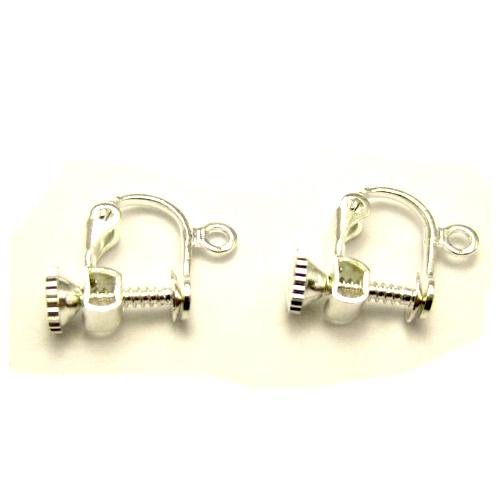clips instelbaar / bijoux / doe het zelf / zilverkleurig
